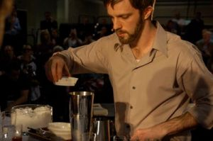 Michael Phillips at the United States Barista Championship