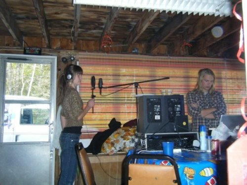 Anna recording...Best day ever...never wanted to leave that cabin in the middle of nowhere...music, trees, water, fourwheeler, love.